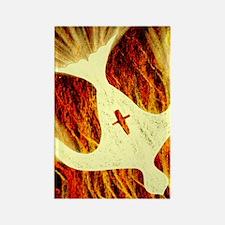 Spirit on Fire Rectangle Magnet