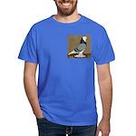 Blue Bald West Dark T-Shirt