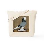 Blue Bald West Tote Bag