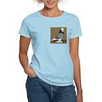 Blue Bald West Women's Light T-Shirt