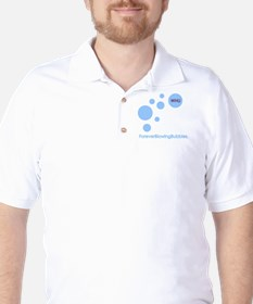 Forever Blowing Bubbles Golf Shirt