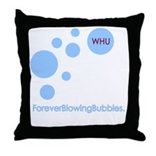 Forever Blowing Bubbles Throw Pillow