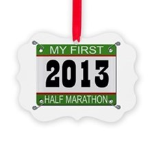 My First 1/2 Marathon - 2013 Ornament