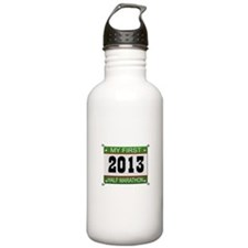 My First 1/2 Marathon - 2013 Water Bottle