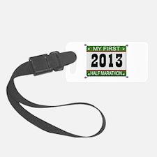 My First 1/2 Marathon - 2013 Luggage Tag