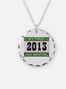 My First 1/2 Marathon - 2013 Necklace