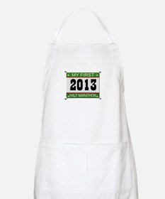 My First 1/2 Marathon - 2013 Apron