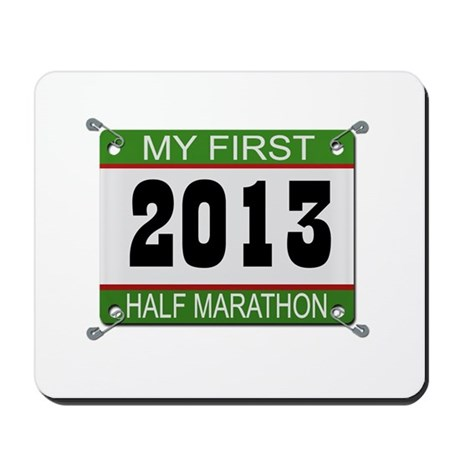 My First 1/2 Marathon - 2013 Mousepad