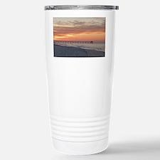 Ft. Fort Walton Beach Pier Flor Travel Mug