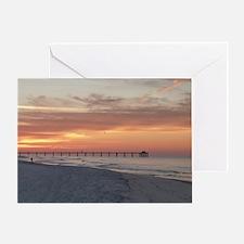Ft. Fort Walton Beach Pier Florida S Greeting Card