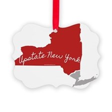 Upstate New York, of course! Ornament