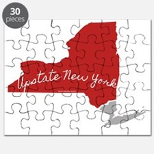 Upstate New York, of course! Puzzle