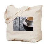 Macchiato at Caffe Umbria Tote Bag