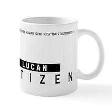 Lucan Citizen Barcode, Mug