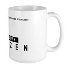 Glendive, Citizen Barcode, Mug