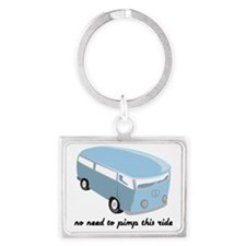 No need to pimp this ride! Landscape Keychain