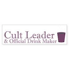 Cult Leader Bumper Sticker