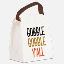 Gobble Gobble Y'All Canvas Lunch Bag