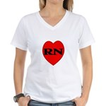 Nurse Women's V-Neck T-Shirt