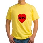 Nurse Yellow T-Shirt
