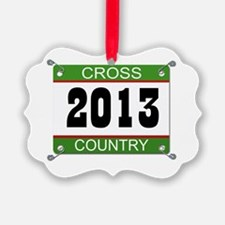 Cross Country Bib - 2013 Ornament