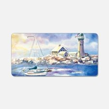 Scituate Harbor 2 Aluminum License Plate