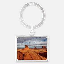 Desert Landscape Keychain