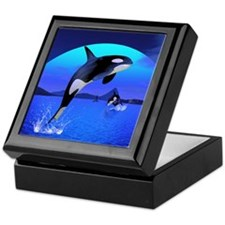orca_16x20_print Keepsake Box
