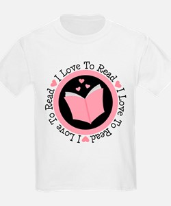 I Love To Read Book Club T-Shirt