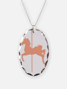 Single Carousel Horse Necklace