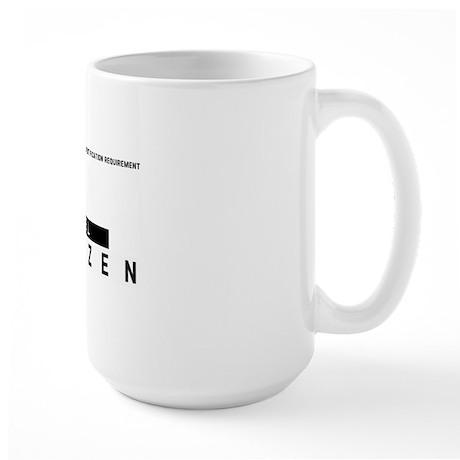 Kiel Citizen Barcode, Large Mug