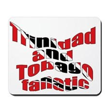 Trinidad flag fanatic Mousepad