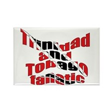 Trinidad flag fanatic Rectangle Magnet
