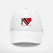 I love Trinidad & Tobago Baseball Baseball Cap