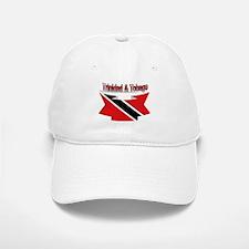 Trinidad flag ribbon Baseball Baseball Cap
