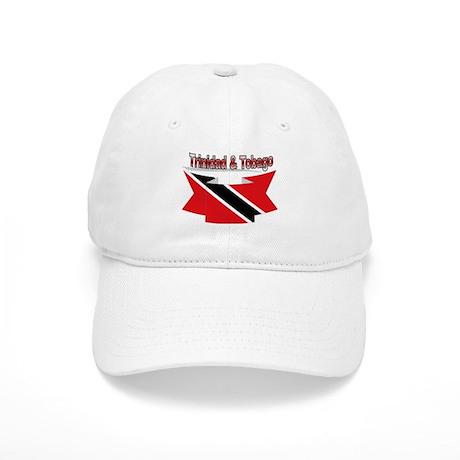 Trinidad flag ribbon Cap