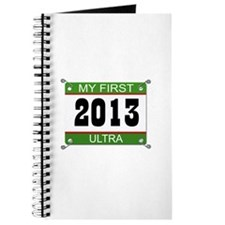My First Ultra Bib - 2013 Journal