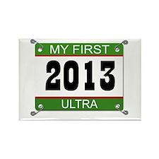 My First Ultra Bib - 2013 Rectangle Magnet