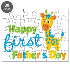 Giraffe 1st Fathers Day Puzzle