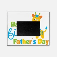 Giraffe 1st Fathers Day Picture Frame