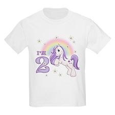 Pretty Pony 2nd Birthday T-Shirt