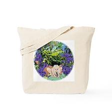 Fairy in Iris Tote Bag