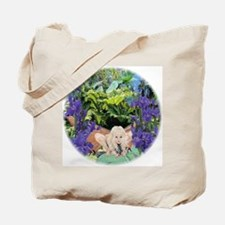 Fairy in Iris Tote Bag