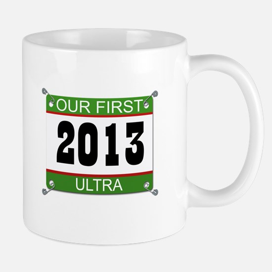 Our First Ultra Bib - 2013 Mug