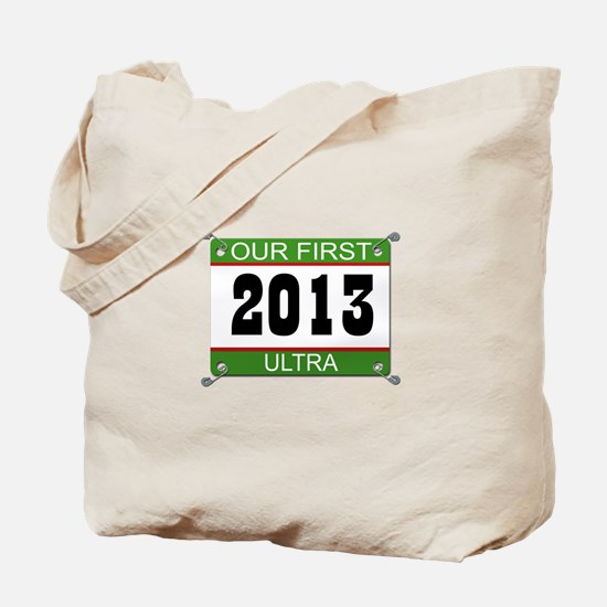Our First Ultra Bib - 2013 Tote Bag