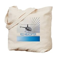 Aircraft R22 Helicopter Tote Bag