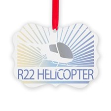 Aircraft R22 Helicopter Ornament