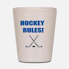 HOCKEY RULES Shot Glass