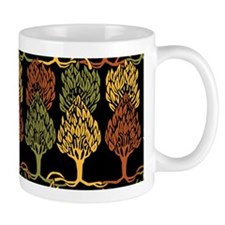 Fall Color Trees by Aubrey Beardsley Mug