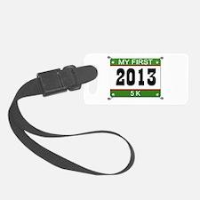 My First 5K Bib - 2013 Luggage Tag